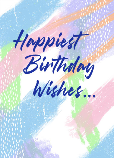 Very Special You Funny One from the Heart Card Birthday Send someone a very special personalized greeting card just in time for their birthday! | Happiest birthday wishes to a very special person you me anyone thankful hopeful celebrate enjoy  To a very special you!