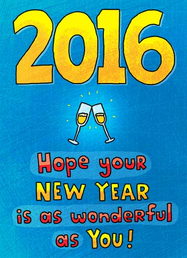 Funny  Card  ,  Happy New Year